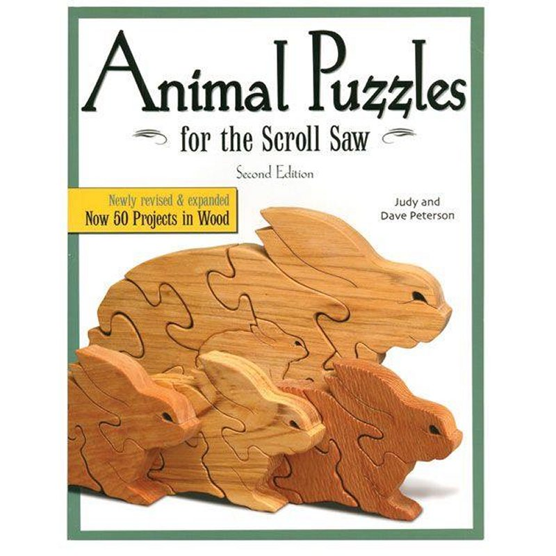 Scrollsaw Animal Puzzles
