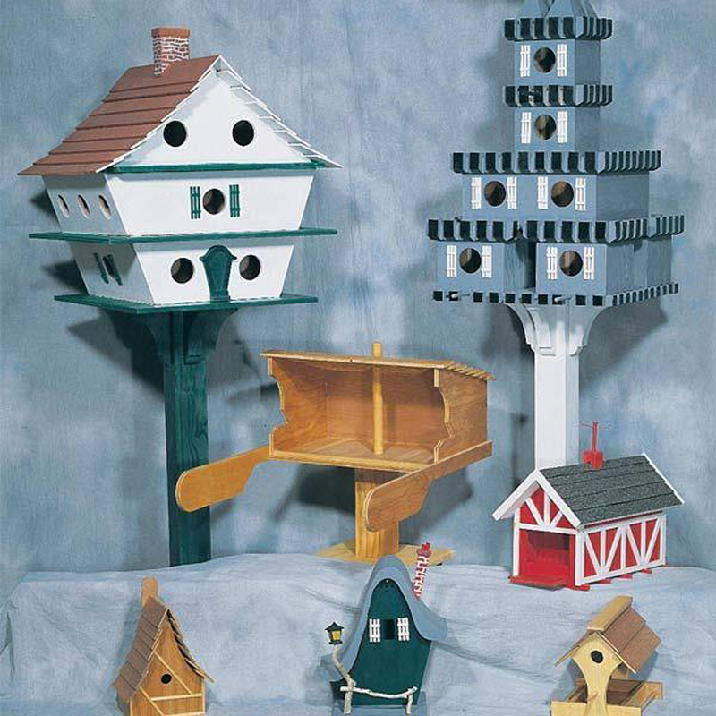 U-BILD Birdhouse Assortment Plan