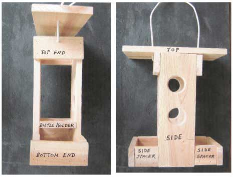 Easy Bird Feeder Plans