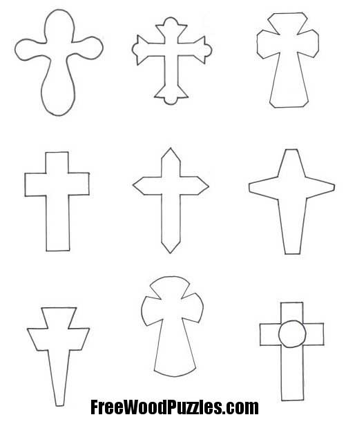 Free Cross Patterns For Wood