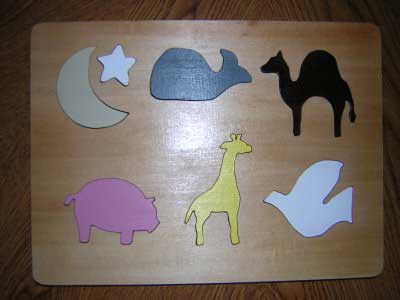Tabletop Animal Puzzle