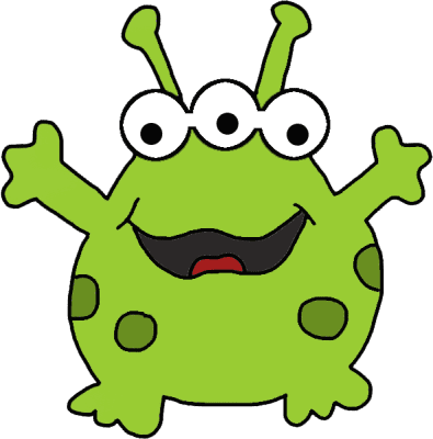 Silly Monster Puzzle - Cute Non-Scary Monster Puzzle