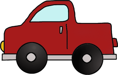 Toddler Puzzle Cute Truck Puzzle Template