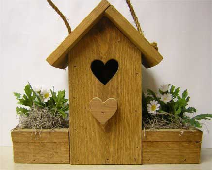 Decorative Flower Pot Bird House