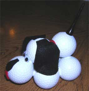 Golf Ball Dog