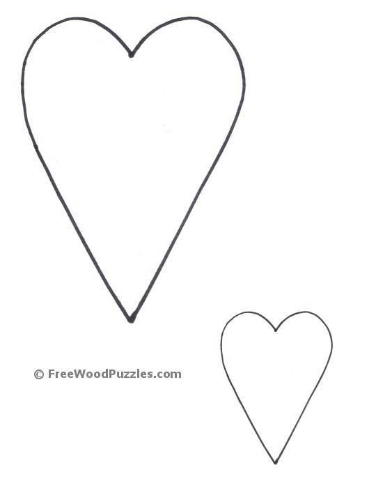 Printable Shapes - Star Patterns, Heart Patterns, Moon Shapes