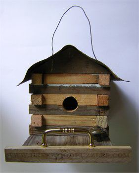 Log Cabin Bird House Plans