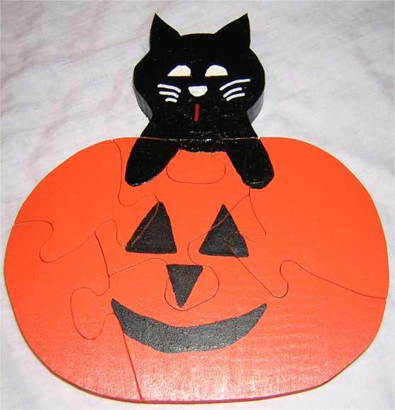 Halloween Puzzles - Pumpkin Puzzle