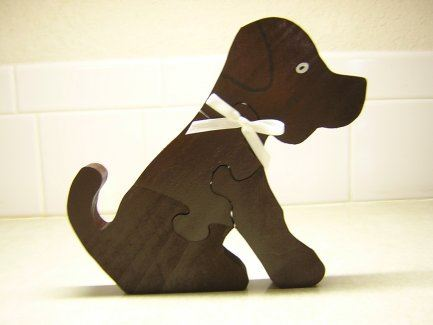 Wood Puzzles Dog Puzzle For Wood