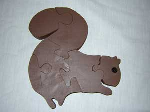 Free Wooden Patterns - Squirrel Puzzle