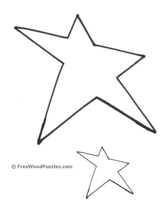 Printable Star Shape Patterns