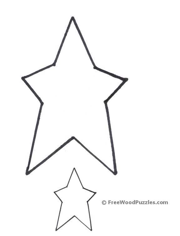Star Printable Cutouts 576 x 756 14 kb jpeg, printable shapes - star ...