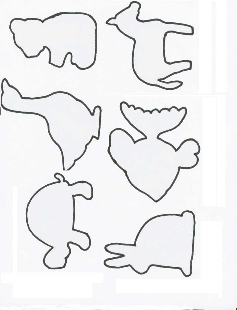 Farm Animal Cut Out Patterns Wood