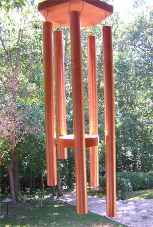 Copper Wind Chimes