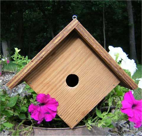 Bird House Plans - Wren Bird House