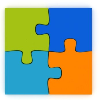 Click here to print the Beginner's Jigsaw Puzzle Pattern